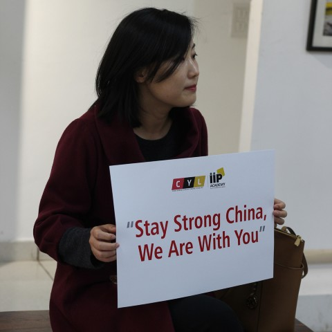 Stay strong china ,we are with you